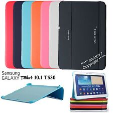 New Slim Thin Smart Folding Case BOOK Cover For Samsung Galaxy Tab 4 10.1 T530