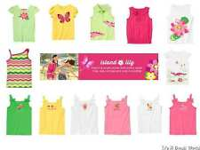 Gymboree Island Lilly Polo Tank Top Tee Crocodile Water Lily 5 6 7 8 10 12 NWT