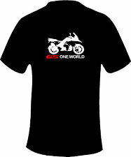 BMW GS 1200 One World  Motorcycle Printed T Shirt in 6 Sizes