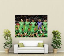 Algerian Football World Cup 2014 Giant 1 Piece  Wall Art Poster WC125