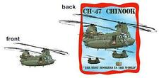 Chinook Helicopter Cartoon Tshirt  #0546 GA muscle car auto