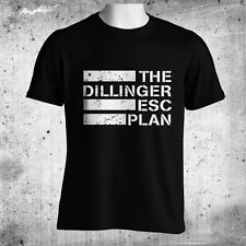 The Dillinger Escape Plan Gildan Mens Black T-Shirt Size M L XL 2XL 3XL