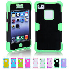 Big Sale 3-in-1 Luminous Durable Hybrid Skin Shell Case Cover For iPhone 4/4S