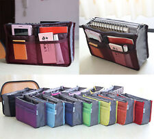Lady Womens Insert Large liner Organizer Handbag Organiser Purse Travel Tidy Bag