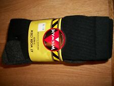 WIGWAM AT WORK CREW SOCKS 3PACK MADE IN USA LARGE OR XL