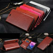 Luxury PU Leather Flip Card Wallet Case Stand Cover Skin For LG Google Nexus 5