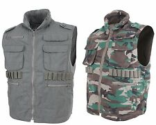 Rothco Vintage Military Tactical Hunting Ranger Vest With Hood