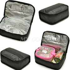 Travel Waterproof Lunch Cooler Insulated Pouch Box Cosmetics Storage Wash Bag