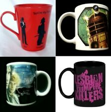 FILM & TV Ceramic MUGS Some Rare! FREE UK POSTAGE Multi-Listing