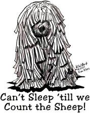 Komondor Dog Ladies Tshirts & Nightshirts  7431 Kiniart pet art