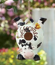 WHIMSICAL WELCOME BIRDHOUSES - DOG, FROG OR COW