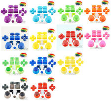 Full Set for PS3 Controller Parts-Thumbstick D-Pad L1/R1 L2/R2 Triggers Buttons