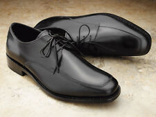 Samuel Windsor Handmade Mens Classic Leather City Lace Up Shoe in Black