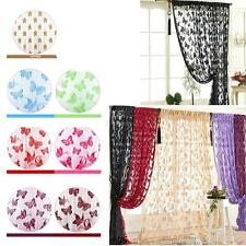 Fringe Door Window Panel Room Divider Butterfly String Curtain Cute Door Curtain