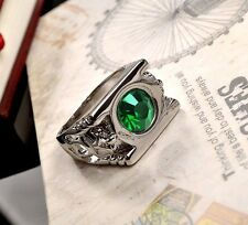 Cosplay Green Lantern Ring with Austrian Crystal in Gift Box