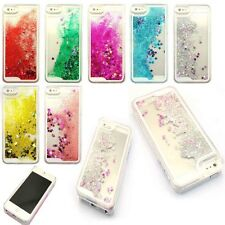 For iPhone 5 5S Glitter Stars Bling Multicolor Quicksand Hard Back Case Cover