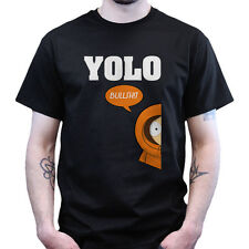 Yolo You Only Live Once Kenny McCormick Bullshit South of the Park T-shirt