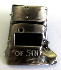 NED KELLY AUSSIE BUSHRANGER LIMITED EDITION OF ONLY 500 HELMET PIN BADGE 151-200