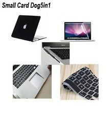 """Matte Hard Case Keyboard Cover Screen Protector For Mac Book Air 11"""" 13"""" Pro 15"""
