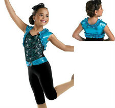 NEW Devil Blue Dress Tap Jazz Dance Competition Costume Pageant Casual Wear OOC