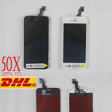 50X NEW APPLE IPHONE 5C LCD SCREEN DISPLAY & TOUCH DIGITIZER COMPLETE