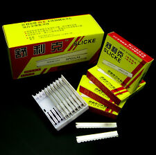 NEW 10 Or 30pcs Styling Razor Blades For Feather Or Heated Vibrating Hot Razor