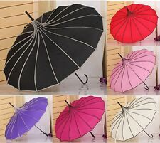 New 6 colors Pagoda design umbrella UV rain umbrella windproof parasol fashion