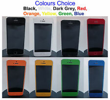 4D Carbon Fiber Full Body Skin Vinyl Sticker For iPhone 5