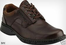 New Clarks Unstructured Mens Un.Ravel Casual Oxford Brown Leather Lace Up 85016