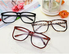 2014 Hot Sell Fashion Vintage Clear Lens Frame Wayfarer Trendy Cool Nerd Glasses