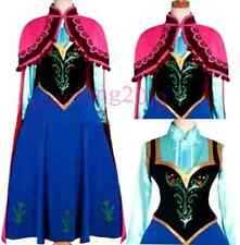 Anna hand made dress cosplay theater Costume appropriate for Adult and child
