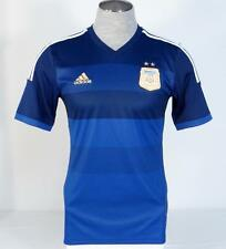 Adidas ClimaCool Argentina 2014 World Cup Away Football Soccer Jersey Mens NWT