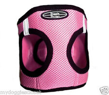 ULTRA CHOKE FREE Dog Harness - Doggie Design Step In Mesh Vest - PINK LADY - USA
