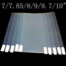 20pcs HD Screen Protector For 7 7.85 8 9 9.7 10 10.1 Inch Android Windows Tablet