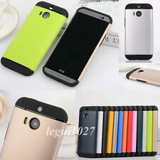 For 2014 HTC One 2 M8 Hybrid Protective Shockproof Hard Back Cover Skin Case