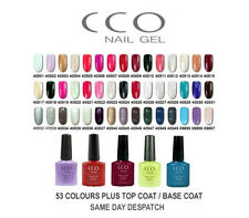 CCO PROFESSIONL UV Led Nail Gel Polish for Shellac Nails ALL COLOURS UK