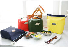 Thermal Cooler Insulated Carry Picnic Bag Waterproof Lunch Storage Pouch