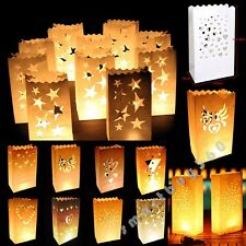 Hot Sales Various Paper Candle Lantern Bags For Wedding Birthday Party Favor