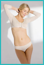 Long Sleeve Bra **POST SURGICAL WEAR** Breast/Arm Lift Surgery Compression Wear