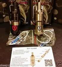 KAISER ATOMIZER RBA, NEW By Yi Loong, EASY BUILD 1 OR 2 COILS W/ BEST VAPE/TASTE