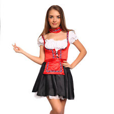 Oktoberfest Bavarian Beer German Maid Fancy Dress Party Complete Costume