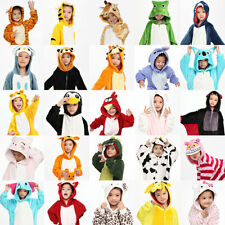 Children's Unisex Cosplay Animal Costume Onesie Kids Pajamas Kigurumi Sleepwear