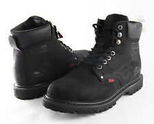 Men Work Boot Cobra Steel Toe C11S Black Leather Goodyear Welt Construction New