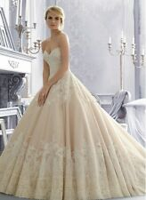 Free shipping sweetheart customize wholesale lace puffy ball gown wedding Dress