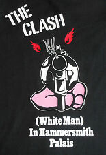 T-Shirt - The Clash White Man In Hammersmith Palais *Punk Rock Classic*Small-3xl