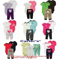 New 2015 Carter's Bebe Boys and Girls Clothing Sets Baby Rompers Bodysuits