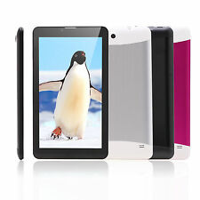 """iRulu 7"""" 3G Phablet Tablet Dual Core&Cam WIFI Android4.2 GPS Bluetooth w/Headset"""