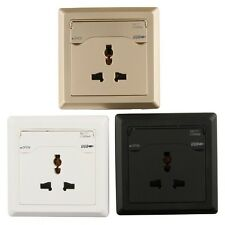 Global Dual USB Ports Wall Socket Charger Power Supply Outlet Face Plate Panel