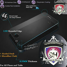 Genuine Explosion Proof Tempered Glass Film Screen Protector for Phones Cover