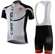 New Hot Short Sleeve Bike Bicycle Cycling Jersey Bib Shorts Pants Suit Sets